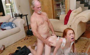 Porno doidas HD avô comendo neta ruiva novinha